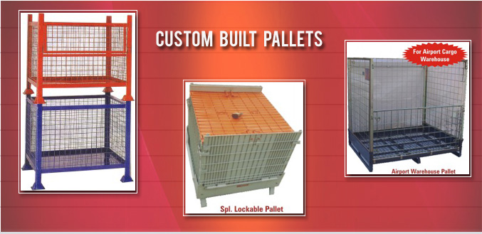 Big Image of Custom Built Pallets Manufactured & Supplied