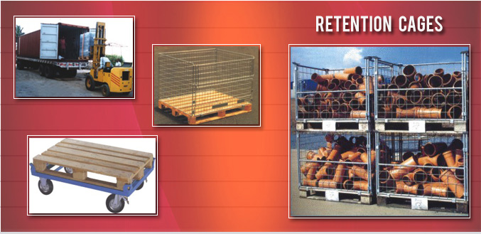 Mulitple Retention Cages Images