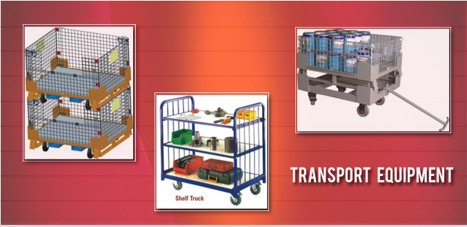 Pallets Transport Equipment Trolley - Image
