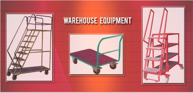 Warehouse Trolleys, Ware House Equipments Image