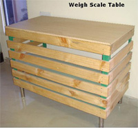 Weigh Scale Table - Image