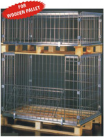 Collapsible Wire Mesh Pallets