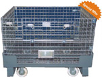 Mobile Wire Mesh Pallet Trolley Image