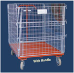 Wire Mesh Surround Trolley Image