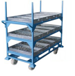 Special Purpose Bullet Shell Drying Trolley Image